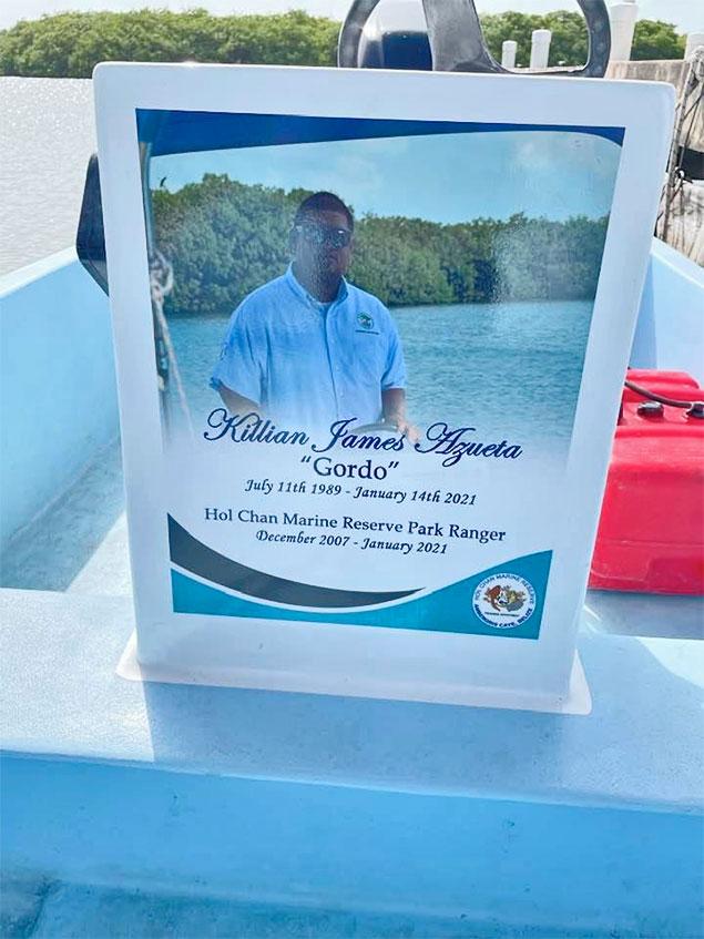 Hol Chan Pays Tribute to Killian James Azueta
