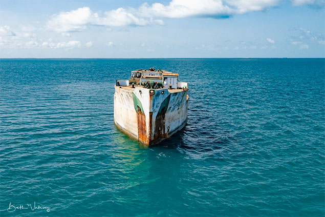 Belize to Add New Wreck Dive at Turneffe Marine Reserve
