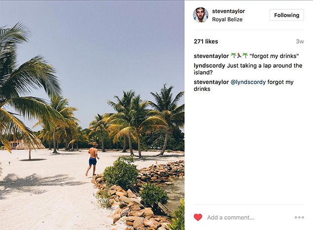 When The Temperature Rises in Belize - Celebrity Photographer Steven Taylor