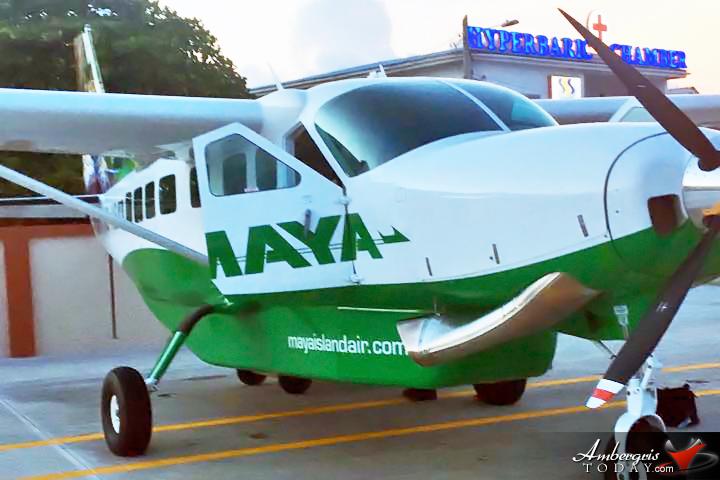 Maya Island Air Planes Boast New Look