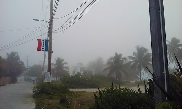 Cold in Belize