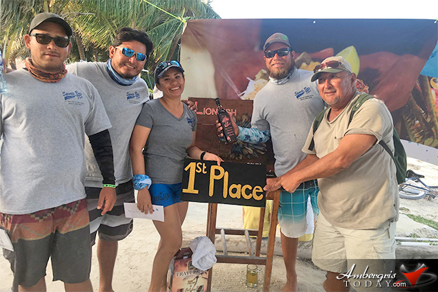 Amigos del Mar Takes Lionfish Tournament in Caye Caulker