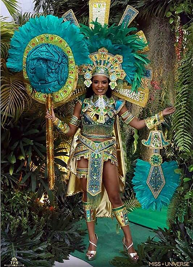 National Costume of Miss Universe Belize