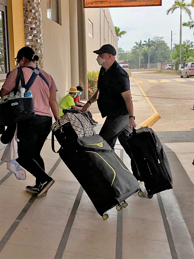 140 US Residents Headed Home from Belize Today