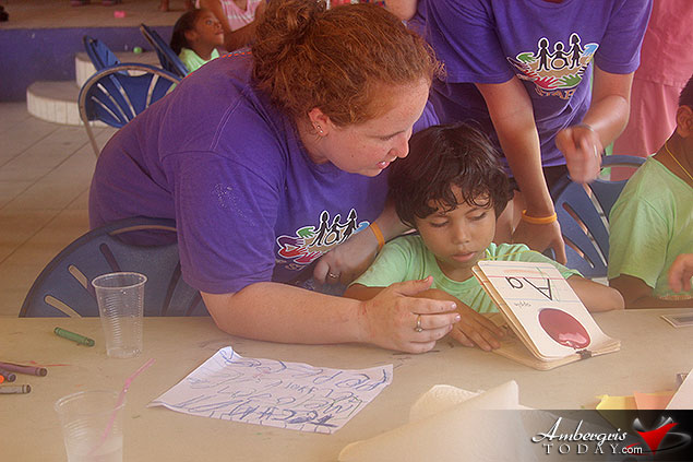 Happy Kids at Camp Starfish for Children with Disabilities
