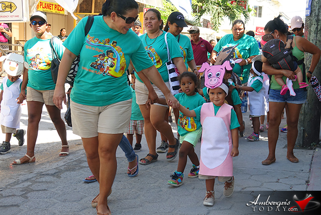 Child Stimulation Month 2018 Opens with Parade