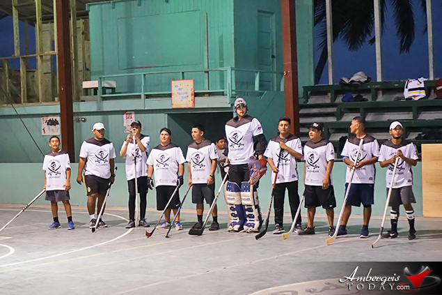 The Caribbean Coconut Cup hockey championship Ball Hockey Tournament starts tonight at San Pedro High School Auditorium. Come enjoy and support island sports. Something new to San Pedro. Cheer on the local San Pedro Buccaneers as they go head to head against Canada's Tropical Knights.