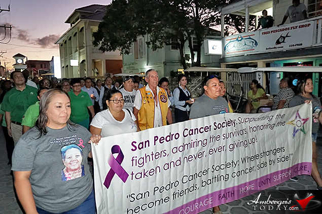 San Pedro Cancer Society Holds Annual Cancer Walk