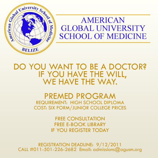 American Global University School Of Medicine