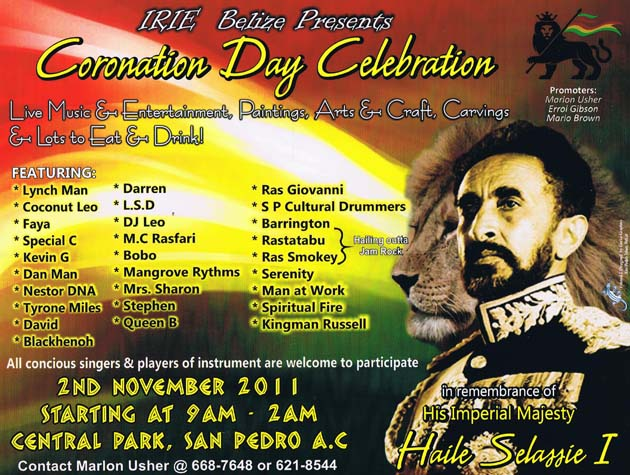 Irie Belize Coronation Day Celebration