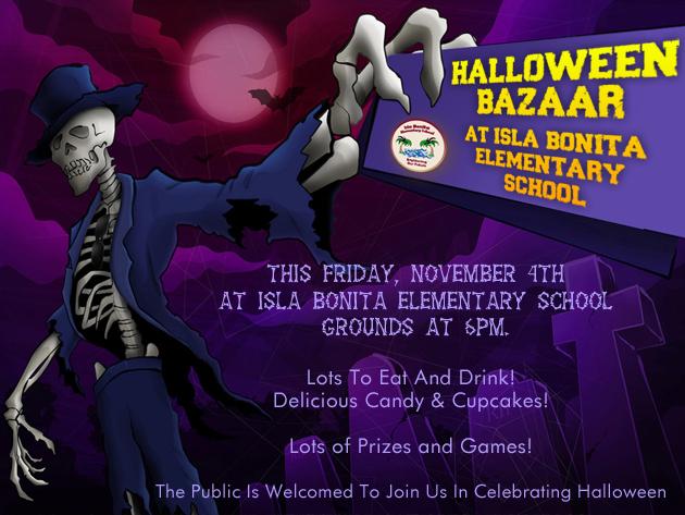 isla bonita elementary school halloween bazaar