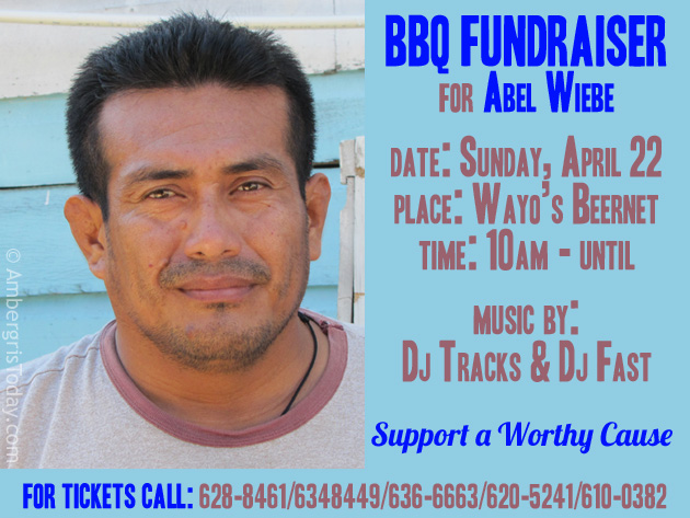 BBQ Fundraiser for Abel