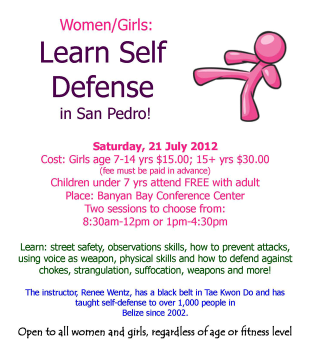 Learn Self Defense in San Pedro!