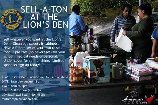 Sell-A-Ton At The Lion's Den
