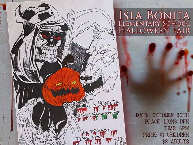 Isla Bonita Elementary School Halloween Fair