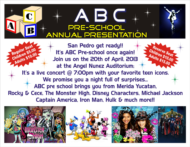 ABC Pre- School Annual Presentation
