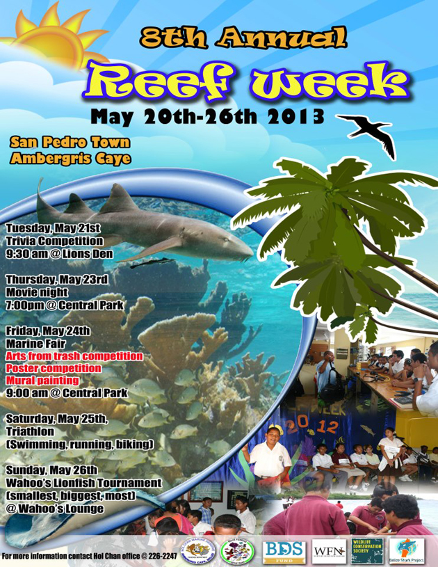 Reef Week Activities Announced