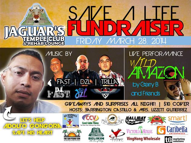 Fundraiser Event for Adolfo Gongora