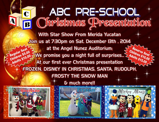 ABC Pre School Christmas Presentation