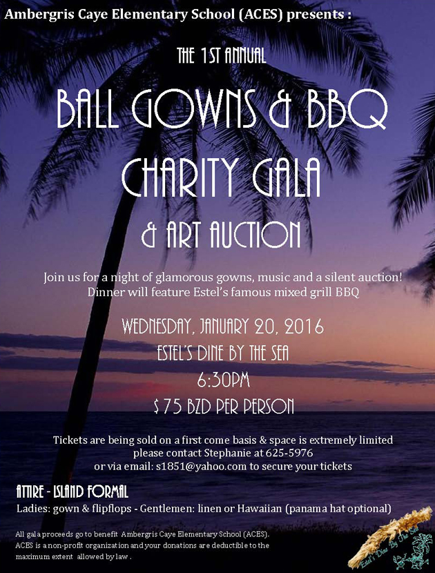 ACES Ball Gowns & BBQ Charity Gala & Art Auction