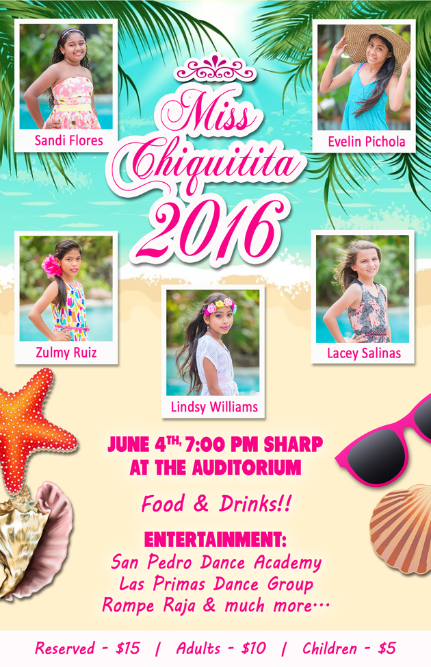 Announcing Miss Chiquititia 2016 Set for June