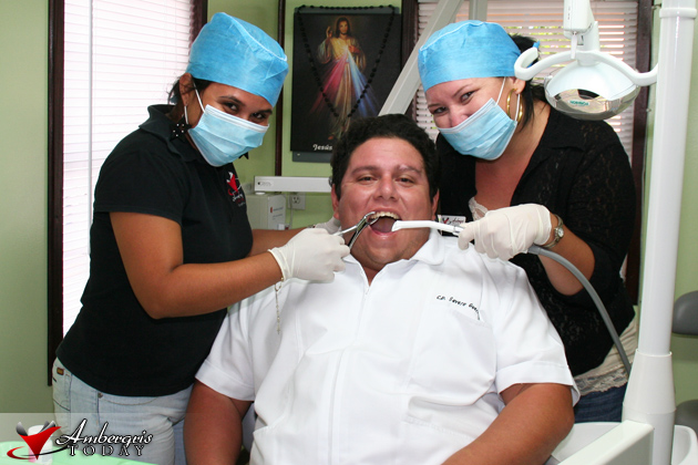 Dorian's Angels at Severito's Dental Clinic!