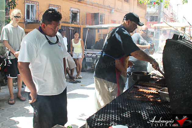 Estel's Takes BBQ Ribs Seriously in San Pedro Grilling Competition