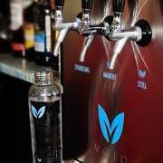 Dorian's Angels Enjoy Drinking Vero Water at O Restaurant, Las Terrazas