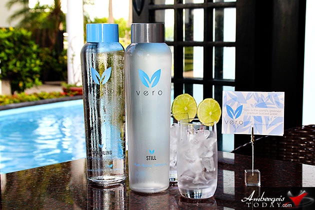 Dorian S Angels Enjoy Drinking Vero Water At O Restaurant
