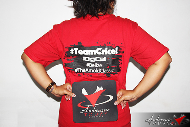 Dorian's Angels Supports Team Cricel Castillo at The Arnold Classic