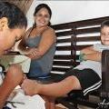 Angel Sofie Enjoys Parent and Child Pampering at Oasis Spa