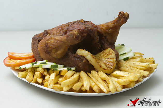 Elvi's Kitchen Whole Chicken Fried Chicken