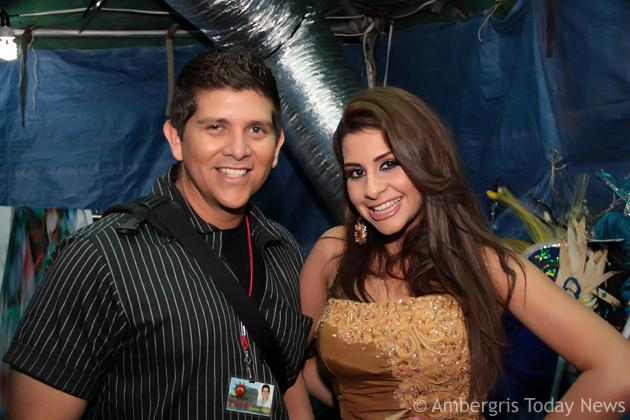 Dorian Nunez and Nicole Hawit