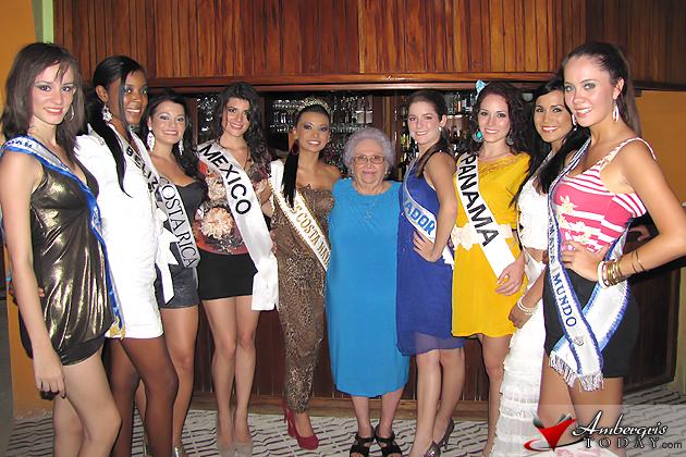 Elvi's Kitchen host Costa Maya Contestants