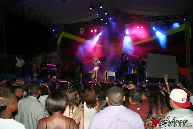Marisela Fans flood festival grounds
