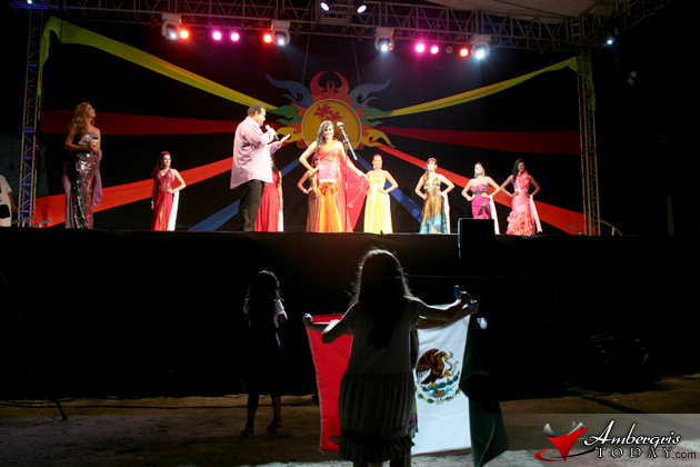 Pageant Night Costa Maya Festival