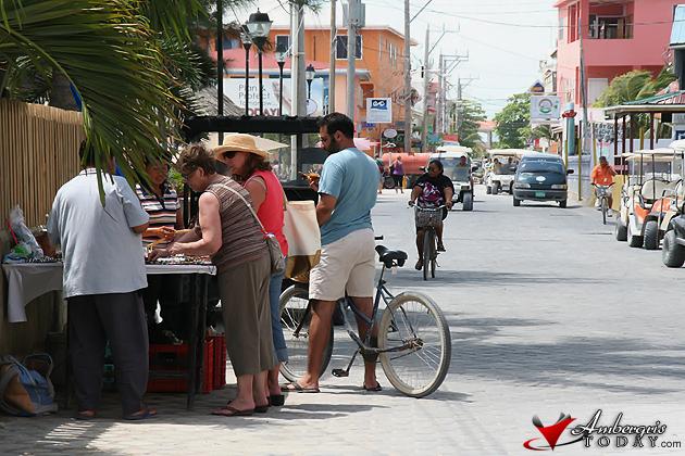 San Pedro Streets, Souvenir Vendor