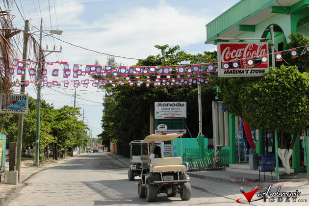 September Celebrations Belize Flag