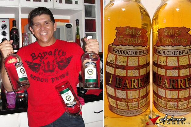 Caribbean Rum and One Barrel Rum of Belize