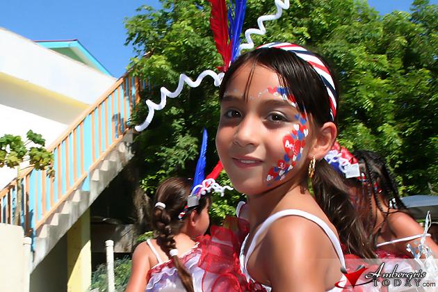 Isla Bonita Elementary School on parade