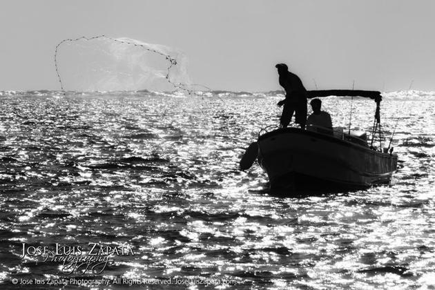 Fishing in San Pedro, Ambergris Caye, Belize