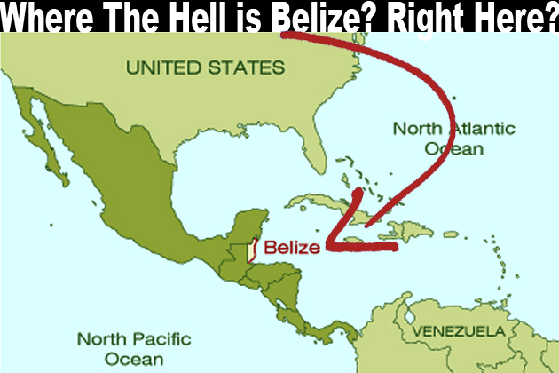 Where The Hell Is Belize