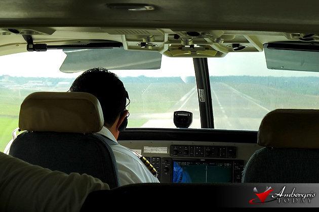 On board one of Tropic Air's Cessna Caravan