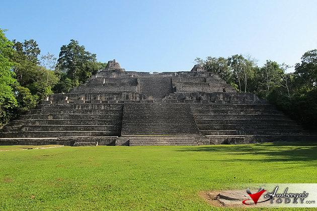 Maya Spring Equinox at Caracol Maya Site, Belize
