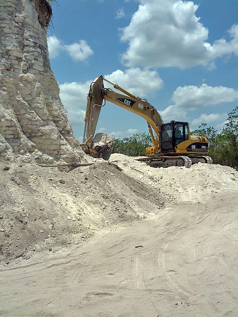 Ancient Maya Pyramid Destroyed for Landfill, Somebody Needs to Pay