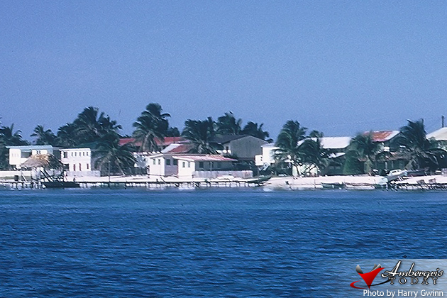 San Pedro, Ambergris Caye, Village in the 1960's