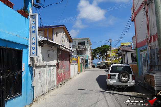 San Pedro, Ambergris Caye Streets then and now of the Lions Den, Manellys and Fidos Restaurant and Bar