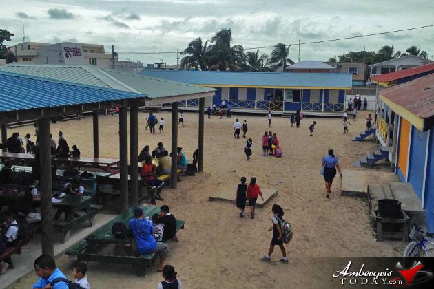 Drastic Changes at San Pedro Roman Catholic School Area
