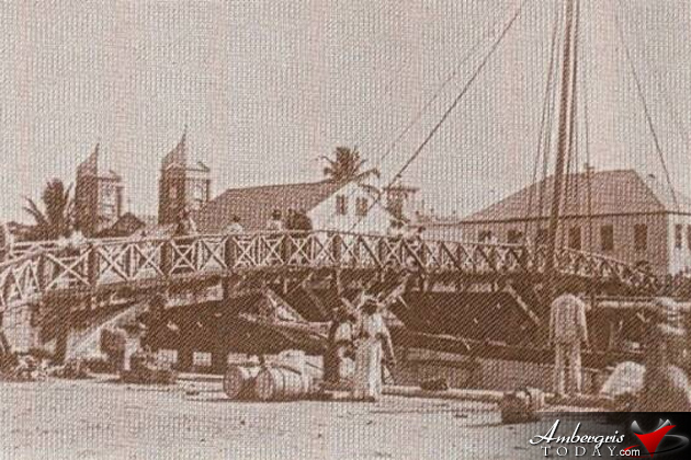 The Historic Belize City Swing Bridge