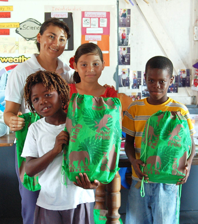 Be Kind Belize at Holy Cross Anglican Schools
